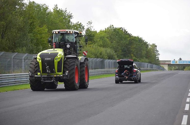 Claas Xerion 5000 Trac VC_Nürburgring