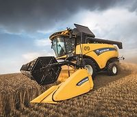 New Holland CH7.70 z systemem Crossover Harvesting