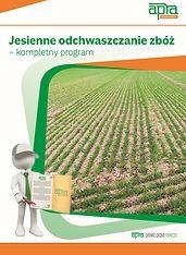Jesienne odchwaszczanie zbóż - kompletny program